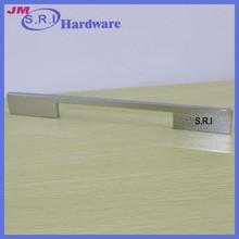Europe style zinc alloy metal hidden kitchen drawer handles