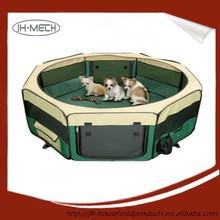 Waterproof fordable 8 panels pet playpen / pet tent
