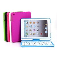360 degree rotating keyboard for ipad mini wireless Bluetooth Keyboard Case