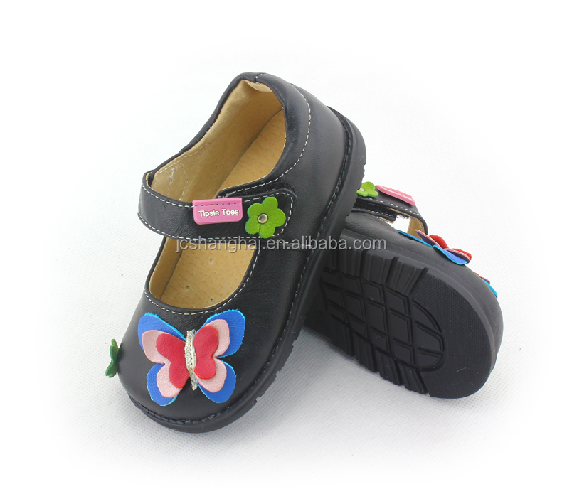 2015 HOT selling TipsieToes soomidoomi Genuine leather shoes hard sole leather baby shoes