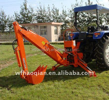 high quelity tractor mounted 3 point hitch backhoe