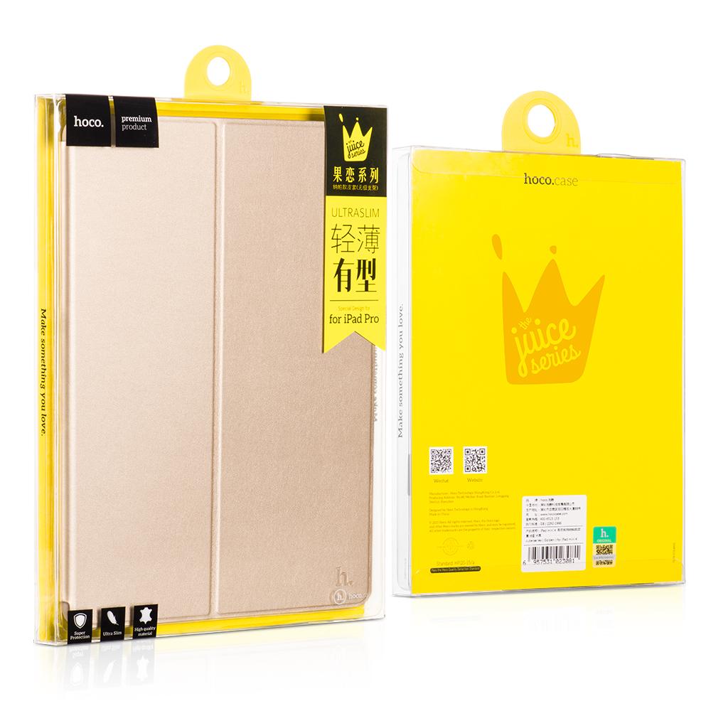Tablet utilização Premium ouro PU couro Mobile Phone Case capa para iPad Pro