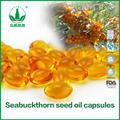 alibab directa de la fábrica de suministro de alta calidad seabuckkthorn suave del aceite de cápsula