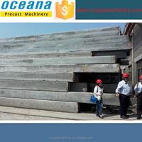 Pre-stressed concrete spun pile production line, precast concrete pile