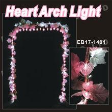 crystal wedding arch garden decoration light