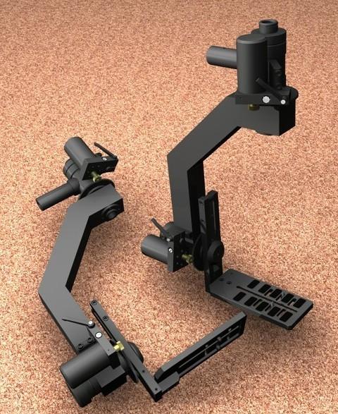 Powerkam pt 1 ez2020 motorized camera mount for a video for Motorized video camera mount