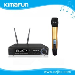 karaoke uhf wireless microphones with low price