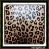 Yuhua printed leopard 1.0mm 1.2mm microfiber chamois leather for handbag wallet