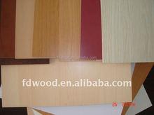 Hot Sale Suede Finish Melamine Impregnated Paper Laminated MDF Board