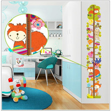 Tree animal wall stickers decoration decor home decal height fashion cute waterproof bedroom living sofa family house AY9179