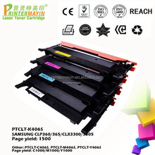 Compatible for Samsung CLT-406S Toner Cartridge FOR SAMSUNG CLP360/365/CLX3300/3305 (PTCLT-K406S)