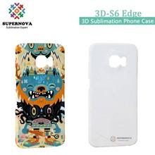 3D Custom Printed Phone Case for Samsung Galaxy S6 Edge