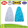 Four-colored printed cotton ironing board cover