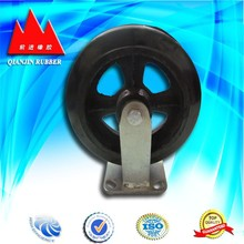4 Inch Polyurethane Top Plate Fixed Industrial Caster Wheel