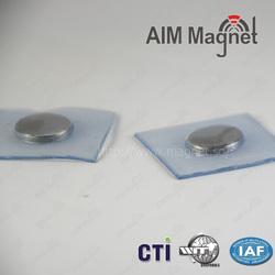 "Monopole Neodymium 3/4 "" x 3/8 ""Magnet for Clothing"