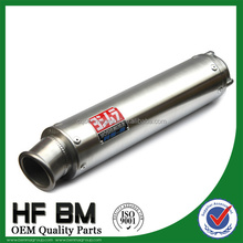 wholesale stainless steel 250cc, 400cc motorcycle exhaust muffler, motorcycle racing exhaust muffler