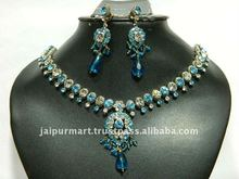 Wholesale Bollywood Crystal Fashion Jewellery Necklace