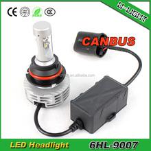 2015 6G fanless led headlights h4 cr ee led headlight with 5 colors best led headlight bulbs h7 canbus led