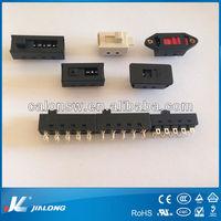 8 Pin 6 pin Black Slide Switch