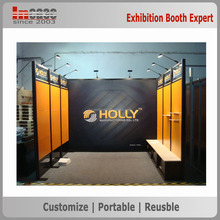 Portable exhibition booth rental, China exhibition stand contractor
