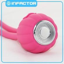 New silicone dustproof waterproof bluetooth speaker with usb