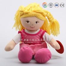 Plush fabric toy child size doll dress