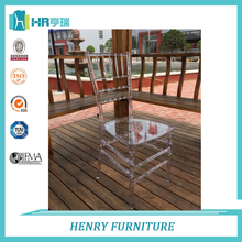 Crystal clear transparent resin party hotel wedding event banquet Chiavari Tiffany chair