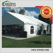 church canopy/ fashion Christmas party tents exbihition trade show tent marquee waterproof aluminium tent span 10m/12m/15m/20m