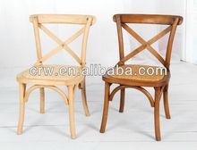RCH-4001-11 Cross Back Chair wooden kids chair