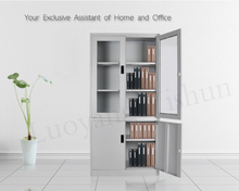 furniture of glass and metal cabinet glass and metal office furniture file cabinet
