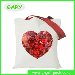 customised tote bag cotton canvas handle bag