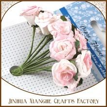 Handmade Mulberry Paper Flower DIY Scrapbook Decoration