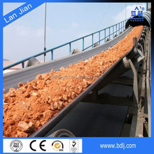 China supplier cheap rubber industrial nylon fabric rough top conveyor belt for gravel