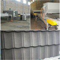 colour Stone-coated Metal Roofing Tile Sheet making machie