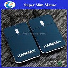 Best Selling PC Laptop Optical USB Wired Slim Mouse With LED Logo