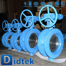 Didtek Sea water high quality api butterfly valve made in china