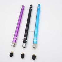 fine beautifully handwritten interchangeable rubber tip stylus pen