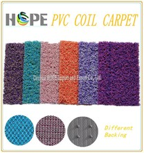 Anti slip waterproof pvc coil carpet sale