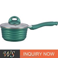 WS-DA010 New Style Die Casting Aluminium Sauce Pot