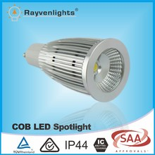 7w dimmable led light garden spot lights gu10 50*105mm with CE&SAA Approval