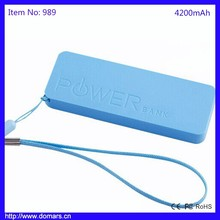 Chinese factories Emergency Mobile Phone Charger 4200mAh High Quality Best Sale Portable Charger