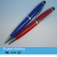 Custom stylus touch pen usb flash drive 8gb for corporate gifts