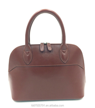Cow leather high quality China leather handbag