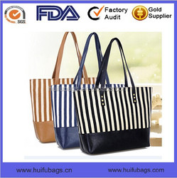 Top selling high quality casual style canvas bag for ladies