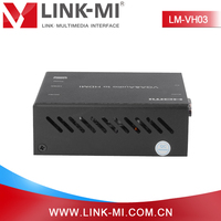 China Wholesale LINK-MI LM-VH03 Adapter Component Composite VGA Audio to HDMI Converter Via HDMI Cable
