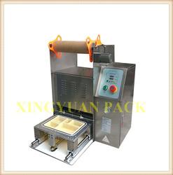 Desktop automatic trays sealing machine /rice tray sealer