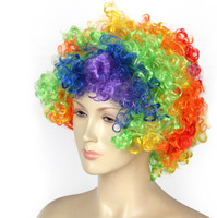 Halloween Party Synthetic Kinky Lace Front Wigs