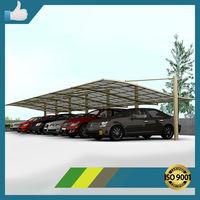 Anodized fashinable aluminum solar carport