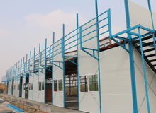 Direct Chinese manufacturer prefab sandwich panel house