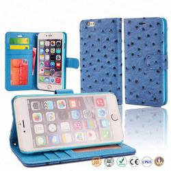 5.5 inch wallet cell case waterproof cheap mobile phone case for iPhone 6 plus